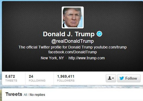 most hated stars on twitter in 2012: donald trump  - national celebrity headlines